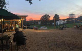 Brewing Tree Beer Company at dusk