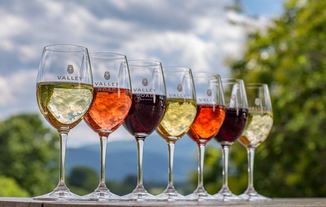 Valley Road Vineyards wines