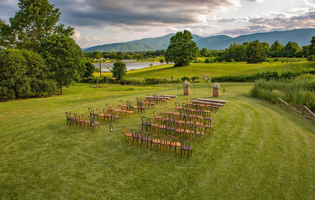 Valley Road Vineyards wedding venue