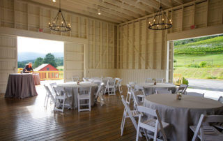 Valley Road Vineyards event space