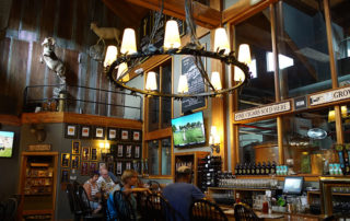 Devils Backbone Brewery bar