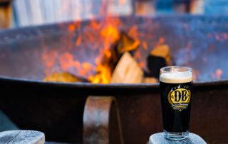 Devils Backbone Brewery firepit