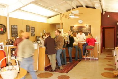 Cardinal Point Winery tasting room