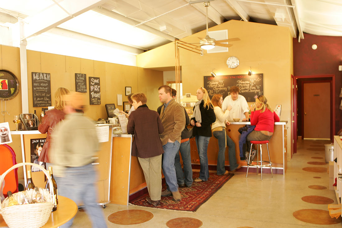 Cardinal Point Winery tasting room