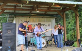Cardinal Point Winery live music