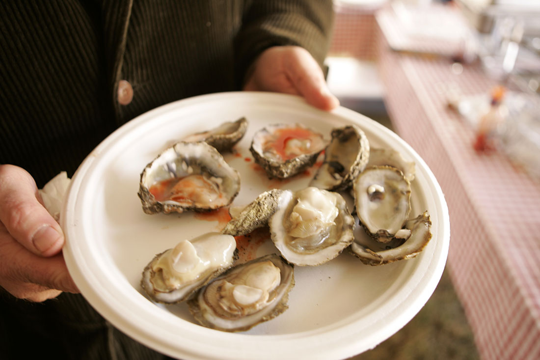 Cardinal Point Winery Oyster Roast
