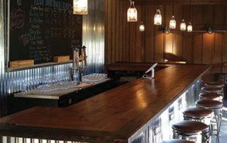 bar at Blue Toad Hard Cider