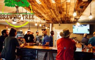 The bar at Brewing Tree