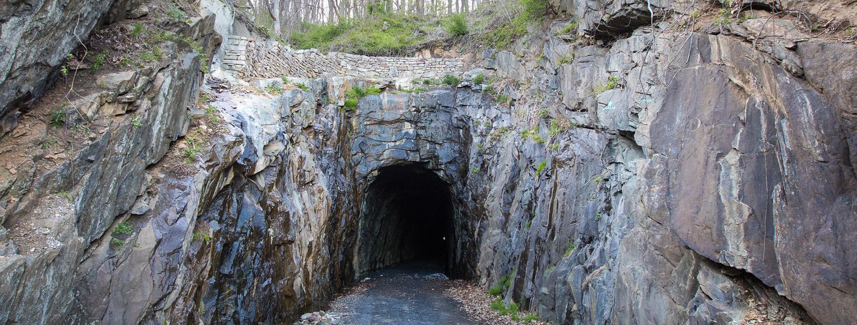 Blue Ridge Tunnel by Jack Looney