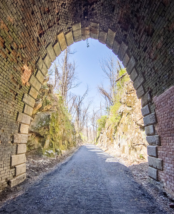 Blue Ridge Tunnel West Side